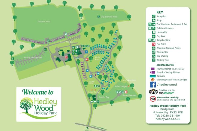 Hedley Wood Park Map