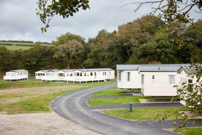 Hedley Wood Holiday Park in Bude