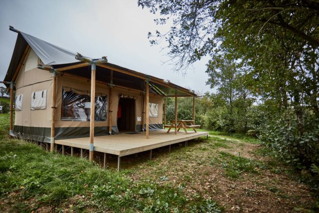 Glamping Safari Lodge in Devon