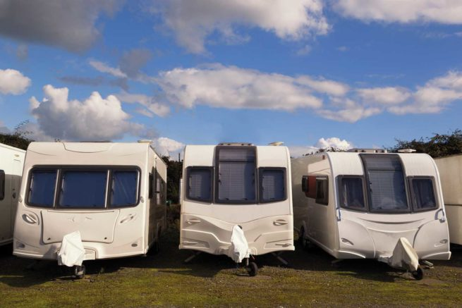 Store your Touring Caravan At Hedley Wood in Bude, Cornwall
