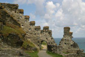 Tintagel castle, Cornwall, UK